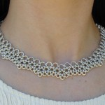 Swarovski Jewelry , 9 Charming Chainmail Necklace Patterns In Jewelry Category