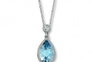 736x736px 8 Stunning Aquamarine Necklace Tiffany Picture in Jewelry