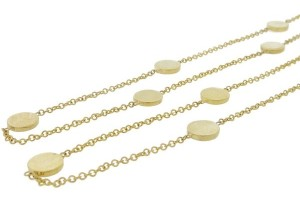 Jewelry , 7 Good Jennifer Meyer Circle Necklace : wedding rings