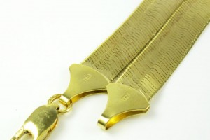 Jewelry , 8 Popular 10k Gold Herringbone Necklace : 10k Herringbones