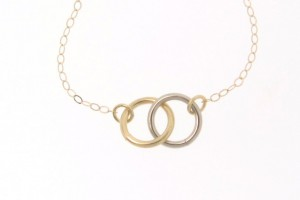 Jewelry , 6 Stunning Tiffany Interlocking Circles Necklace : 14K Gold Interlocking Circles Necklace