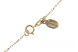 Jewelry , 8 Charmming 14k Gold Wishbone Necklace : 14K Gold Wishbone Necklace