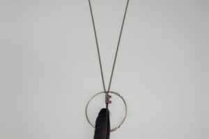 450x600px 7 Awesome Ann Demeulemeester Feather Necklace Picture in Jewelry