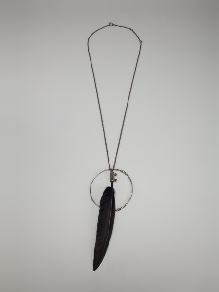 7 Awesome Ann Demeulemeester Feather Necklace in Jewelry