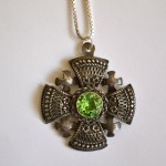 Antique Crusader Cross Pendant , 8 Good Crusader Cross Necklace In Jewelry Category