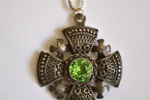 Jewelry , 8 Good Crusader Cross Necklace : Antique Crusader Cross Pendant
