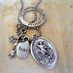 Archangel Michael Charm Necklace , 6 Gorgeous Archangel Michael Necklace In Jewelry Category