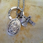 Assisi Charm Necklace , 8 Unique St Francis Of Assisi Necklace In Jewelry Category