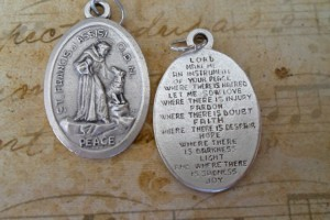 Jewelry , 8 Unique St Francis Of Assisi Necklace : Assisi Peace Medal Necklace