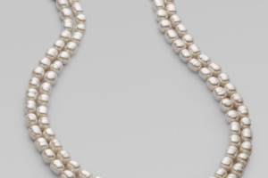 Jewelry , 8 Lovely Majorica Baroque Pearl Necklace : Baroque Pearl Necklace