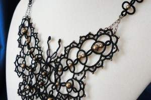 750x767px 8 Nice Tatted Necklace Pattern Picture in Jewelry