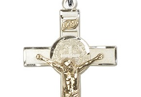 Jewelry , 6 Fabulous St Benedict Crucifix Necklace : Benedict Crucifix Pendant