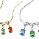 Birthstone Necklace , 9 Fabulous Grandchildren Birthstone Necklace In Jewelry Category