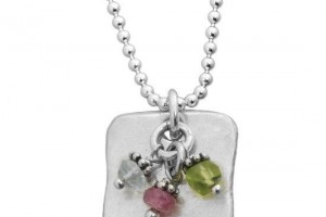 550x550px 7 Nice Birthstone Necklaces For Grandma Picture in Jewelry