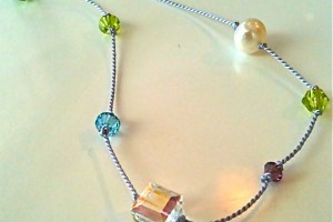 Jewelry , 7 Nice Birthstone Necklaces For Grandma : Birthstone necklace for Grandma