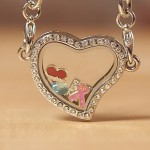 Birthstones Necklace Charms , 7 Popular Locket Necklace With Charms Inside In Jewelry Category