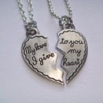 Broken Half Heart Necklaces , 8 Beautiful Broken Heart Necklaces For Couples In Jewelry Category