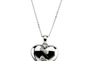 Jewelry , 7 Stunning Breakable Heart Necklace : Broken Heart Pendant