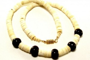 Jewelry , 6 Stunning Puka Shell Necklace For Men : Brown Bead Necklace