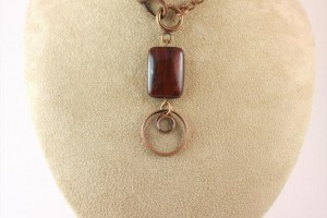 Jewelry , 8 Wonderful Eyeglass Necklace Holder : Burgundy Tiger Eye Eyeglass