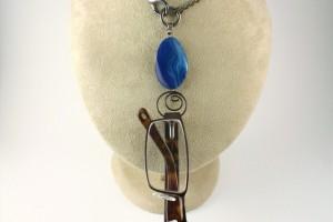 Jewelry , 8 Wonderful Eyeglass Necklace Holder : Burgundy Tiger Eye Eyeglass Holder