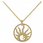 CHOPARD Diamond Happy Sun Necklace , 8 Stunning Chopard Happy Diamonds Necklace In Jewelry Category