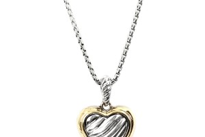 Jewelry , 7 Gorgeous David Yurman Heart Necklace : Cable Heart Necklace
