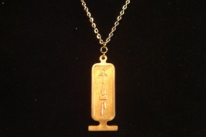 Jewelry , 8 Georgeous Hieroglyphic Necklace Personalized : Cartouche Necklace