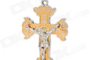 Jewelry , 7 Nice Catholic Cross Necklaces For Men : Catholic Cross Stainless Steel Necklace