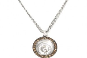 Jewelry , 8 Nice Chopard Floating Diamond Necklace : Chopard 18k Floating Diamond Pendant