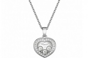 Jewelry , 8 Nice Chopard Floating Diamond Necklace : Chopard Happy Diamonds