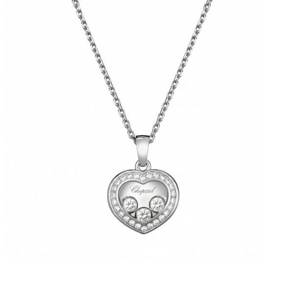 8 Nice Chopard Floating Diamond Necklace in Jewelry