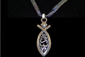 Jewelry , 8 Charming Ichthus Necklace : Christian Jewelry Pictures