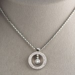 Circle Pave Pendant Necklace , 8 Nice Roberto Coin Cento Necklace In Jewelry Category