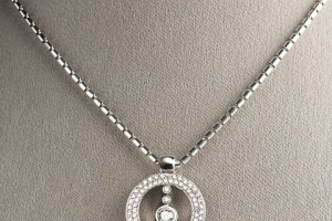 Jewelry , 8 Nice Roberto Coin Cento Necklace : Circle Pave Pendant Necklace