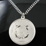 Coast Guard Pendant , 7 Cool Saint Christopher Protect Us Necklace In Jewelry Category