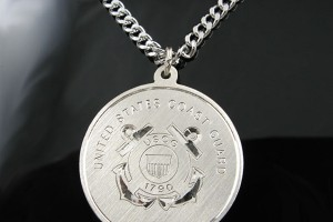 Jewelry , 7 Cool Saint Christopher Protect Us Necklace : Coast Guard Pendant