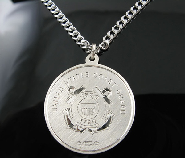 7 Cool Saint Christopher Protect Us Necklace in Jewelry