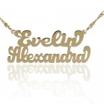 Couple Name Necklace , 7 Amazing Carrie Bradshaw Name Necklace In Jewelry Category
