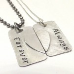 Couples Broken Heart Matching , 8 Beautiful Broken Heart Necklaces For Couples In Jewelry Category