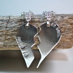 Couples Jewelry Couple Necklace , 8 Beautiful Broken Heart Necklaces For Couples In Jewelry Category