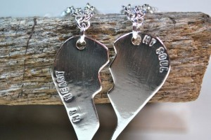 Jewelry , 8 Beautiful Broken Heart Necklaces For Couples : Couples Jewelry Couple Necklace