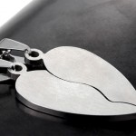 Couple's Necklaces , 8 Beautiful Broken Heart Necklaces For Couples In Jewelry Category