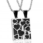 Couples Puzzle Necklaces , 8 Lovely Matching Puzzle Piece Necklace In Jewelry Category