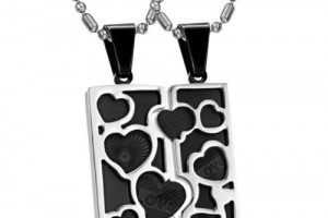 Jewelry , 8 Lovely Matching Puzzle Piece Necklace : Couples Puzzle Necklaces