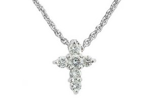 Jewelry , 7 Top Roberto Coin Diamond Cross Necklace : Cross Diamond Necklace