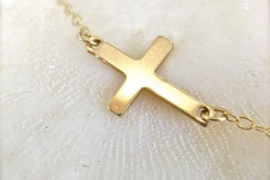 570x617px 8 Nice Sideway Cross Necklace Picture in Jewelry
