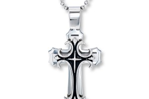 900x900px 7 Good Mens Crucifix Necklace Picture in Jewelry