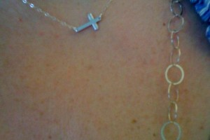600x800px 8 Fabulous Roseark Sideways Cross Necklace Picture in Jewelry