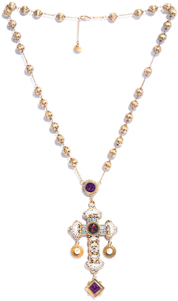 8 Lovely Dolce And Gabbana Rosary Necklace in Jewelry